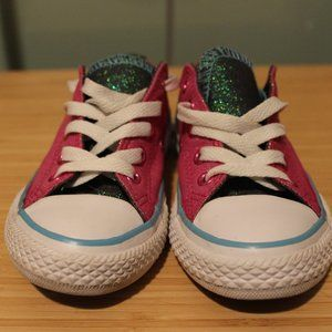 Converse All-star glitter sneakers